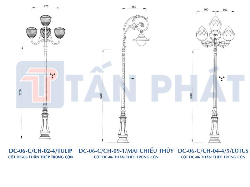 Cột đèn DC-06-C