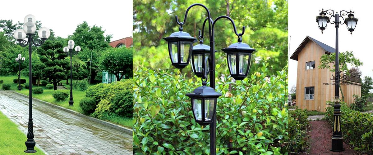Cột đèn trang tri sân vườn